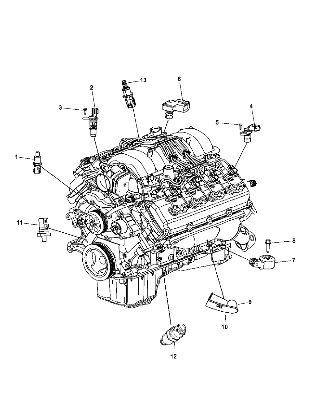 Dodge Engine Schematic