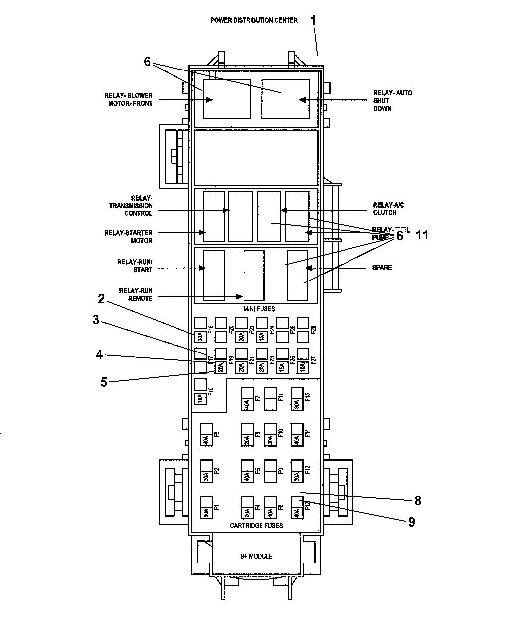 Circuit Electric For Guide  2007 Chrysler Aspen Engine Diagram