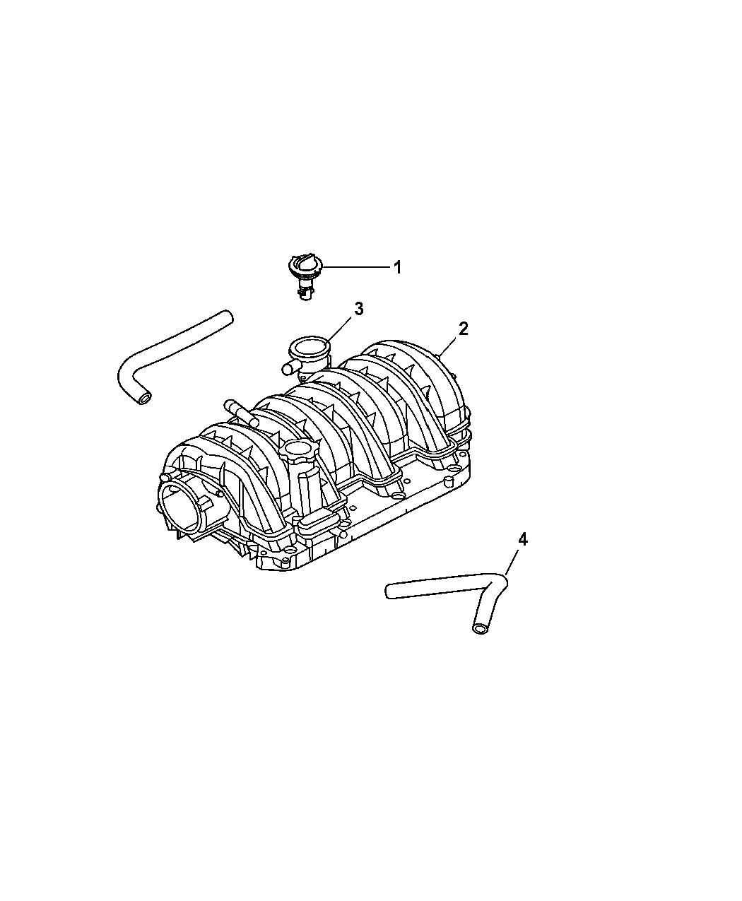 2006 Jeep Commander Crankcase Ventilation Mopar Parts Giant Fuel Filter Thumbnail 1