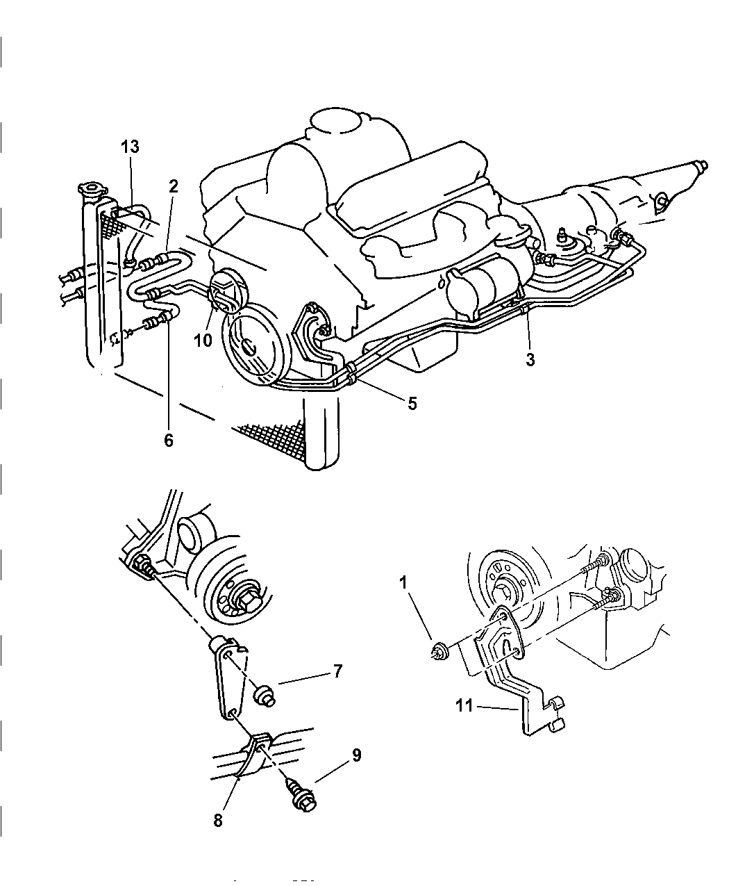 Genuine Mopar TUBE-OIL COOLER