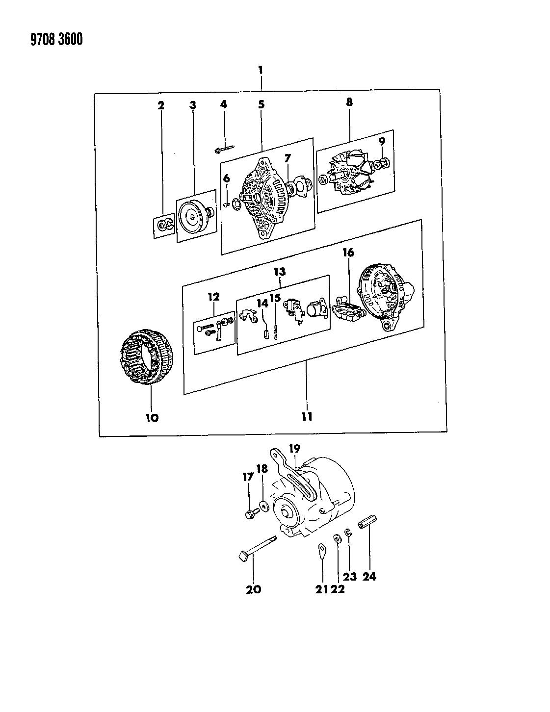 Chrysler Conquest Wiring Diagram