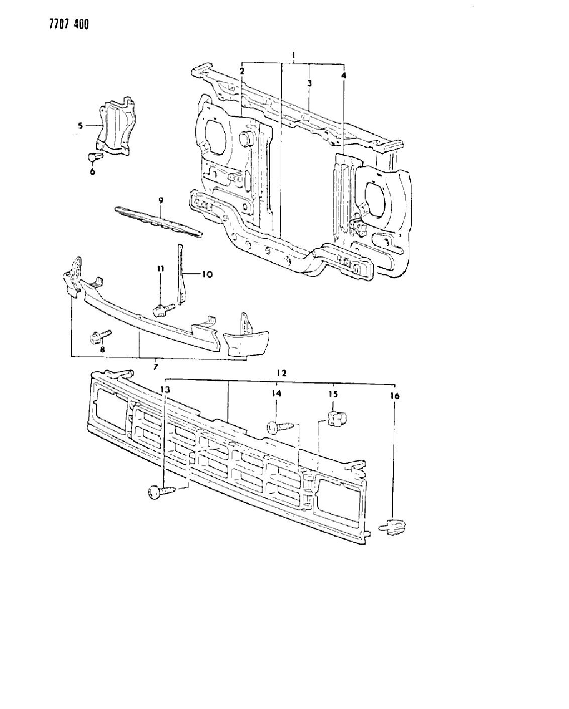 1987 Dodge Ramcharger Wiring Diagram
