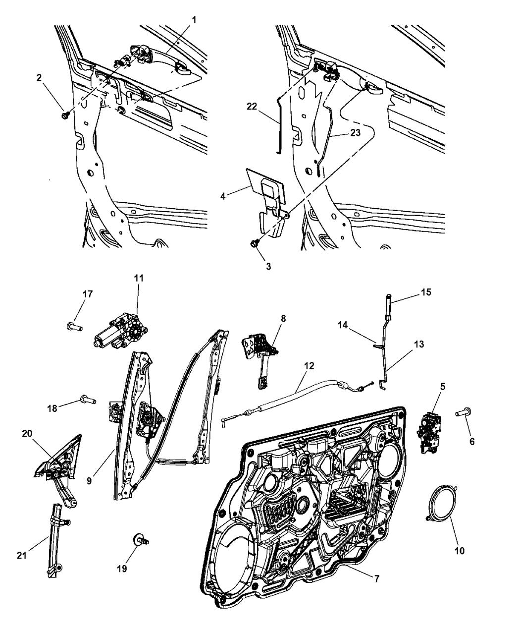26 2008 Chrysler Sebring Convertible Parts Diagram