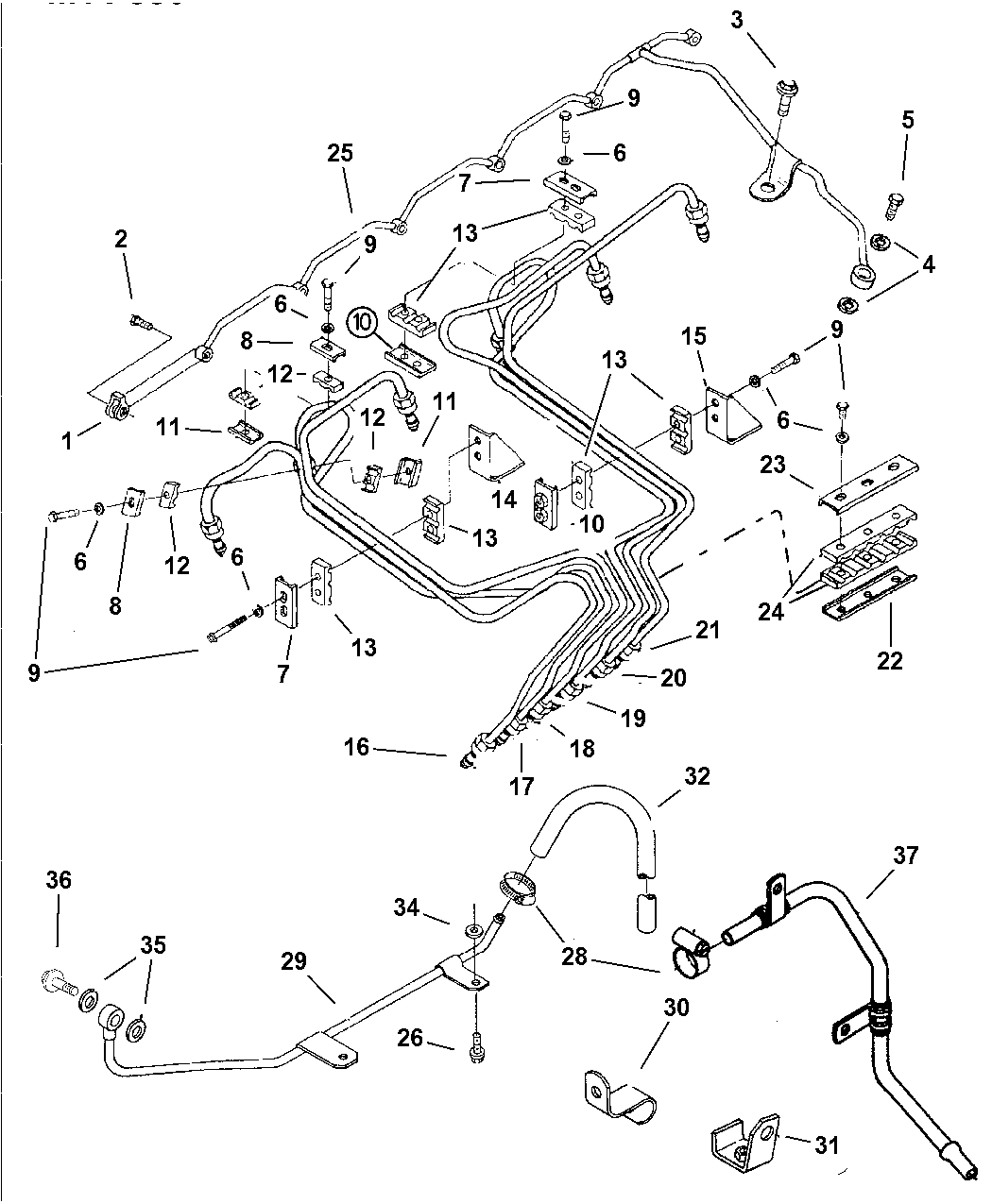 dodge ram 1500 fuel system diagram 4883770aa genuine mopar hose fuel line  4883770aa genuine mopar hose fuel line