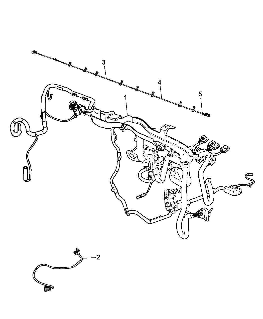 wiring diagram for jeep grand cherokee 68283498ad - genuine jeep wiring-instrument panel wiring diagram for jeep compass 2013