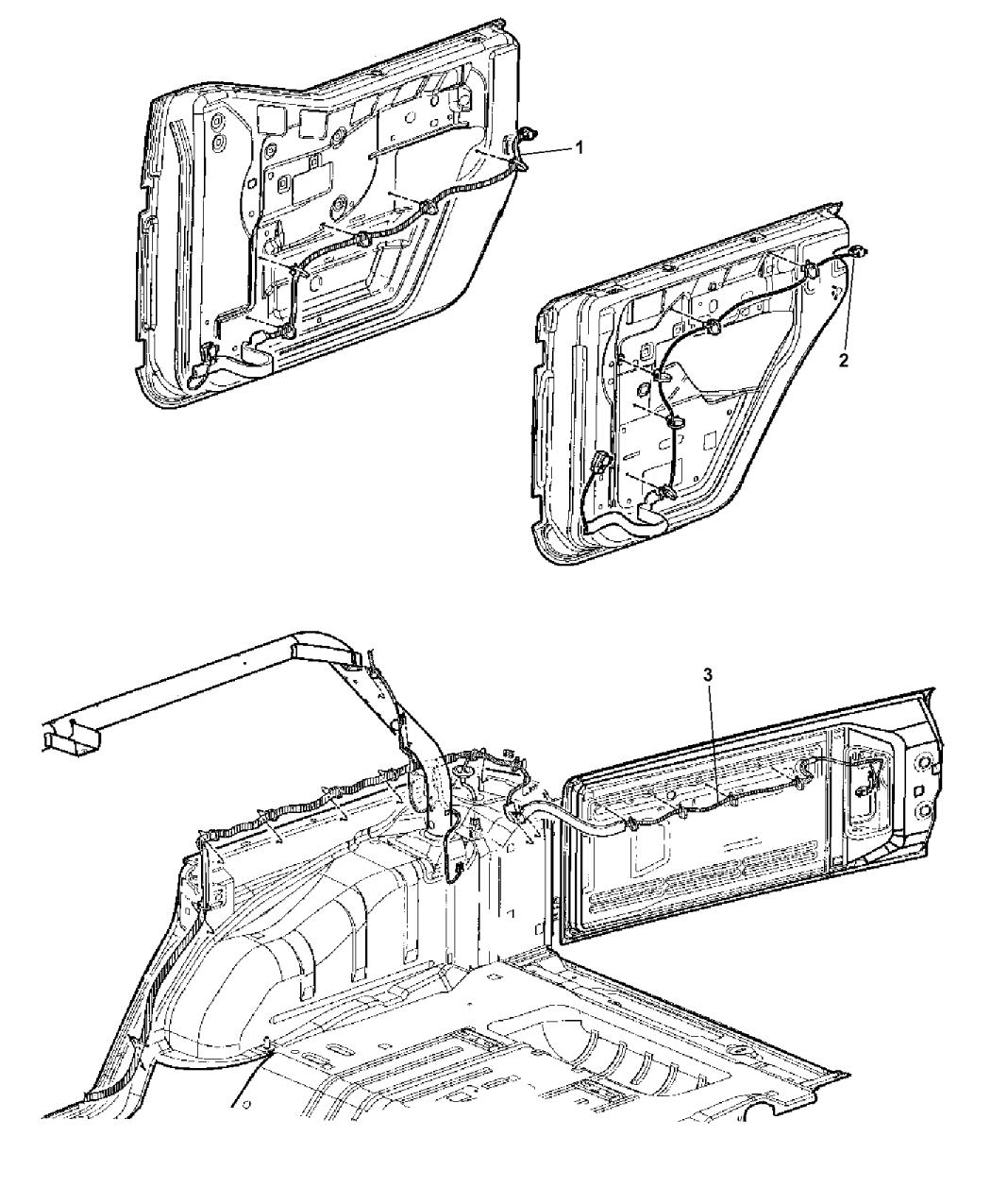 Jeep Jk Rear Door Wiring Diagram • Wiring Diagram For Free