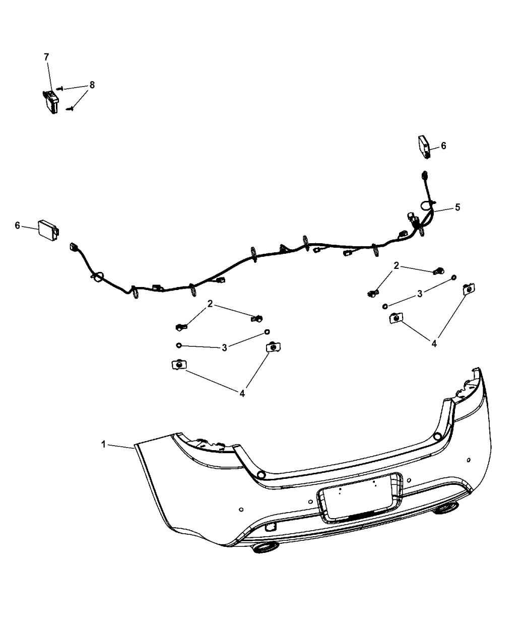 2014 Dodge Dart Park Assist Mopar Parts Giant Wiring Diagram