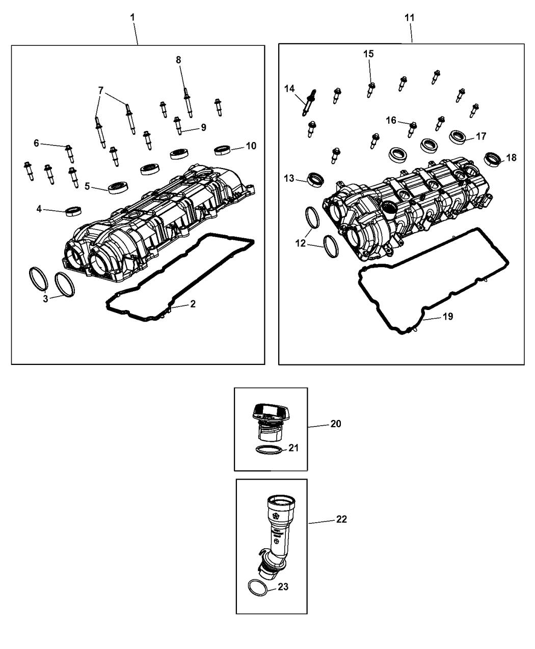 Genuine Mopar TUBE-OIL FILLER