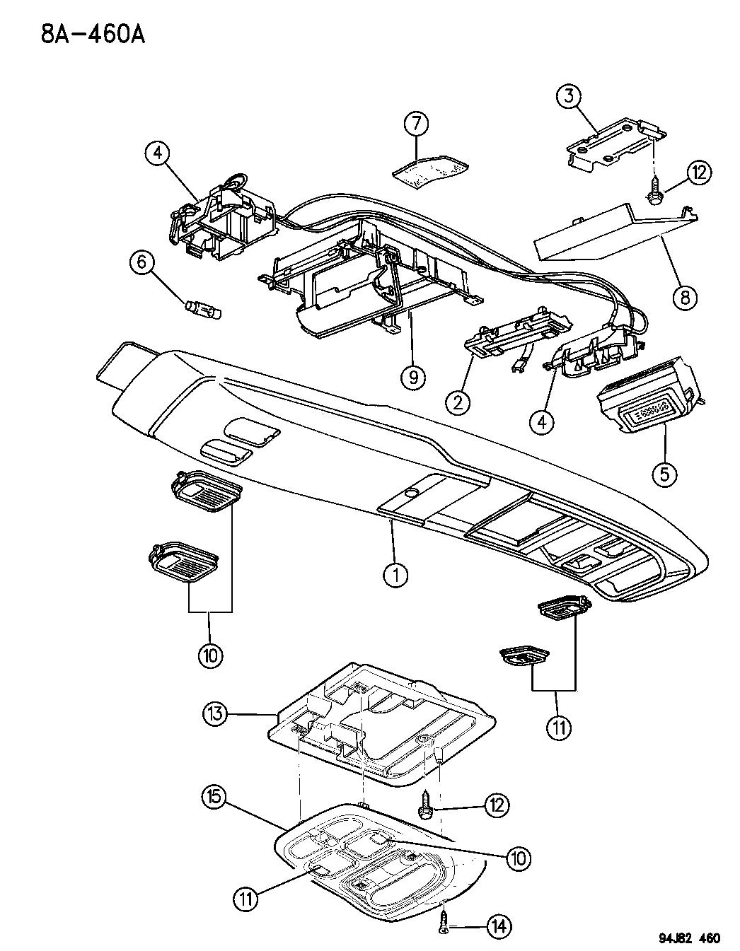 1996 Jeep Cherokee Tail Light Wiring Diagram