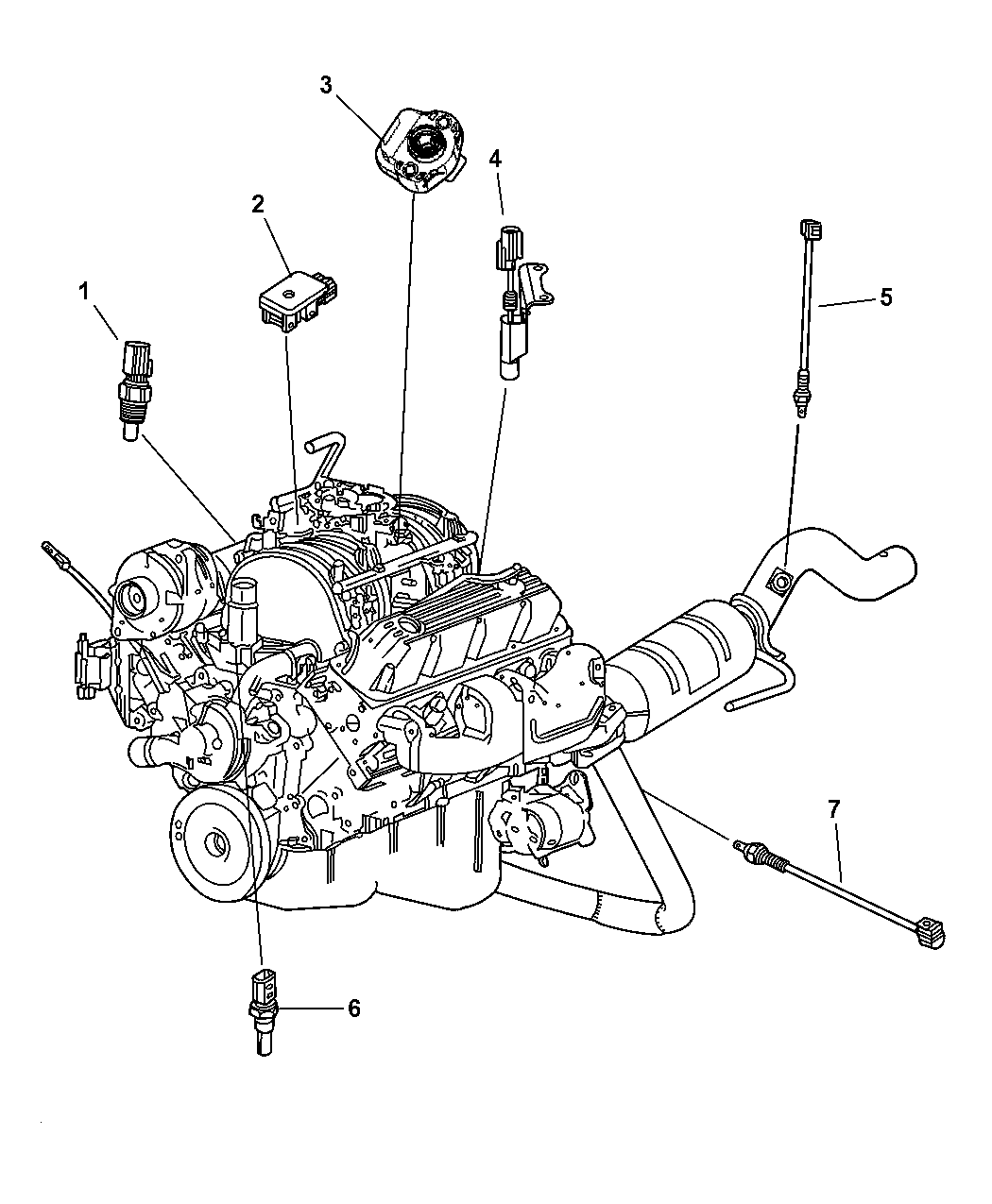 2001 Dodge Ram 2500 Parts Diagram