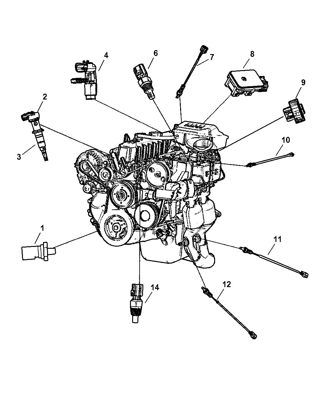 97 jeep cherokee throttle position sensor diagram 4874371ac genuine mopar sensor throttle position  genuine mopar sensor throttle position