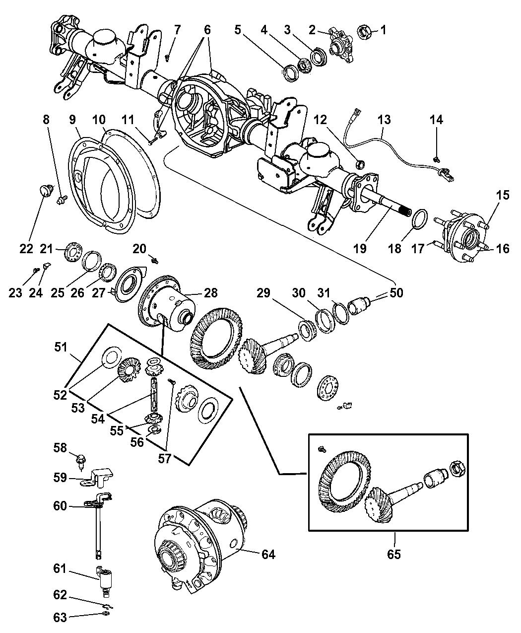 chrysler aspen oem parts diagram