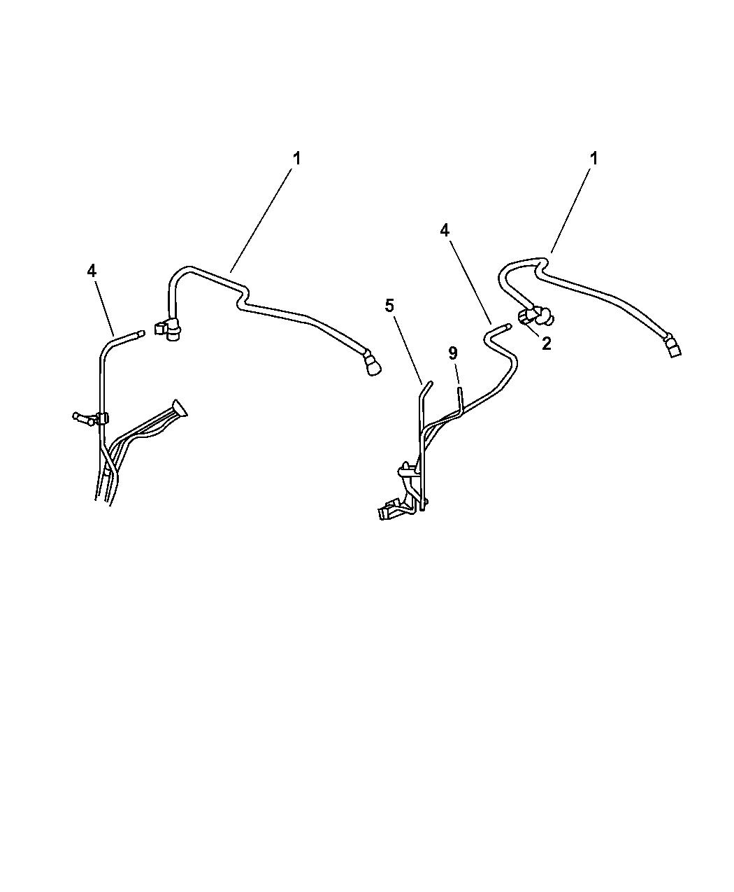 The Underside Of Engine Diagram 2002 Pt Cruiser Wiring Library 2006 Chrysler 2005 Fuel Line
