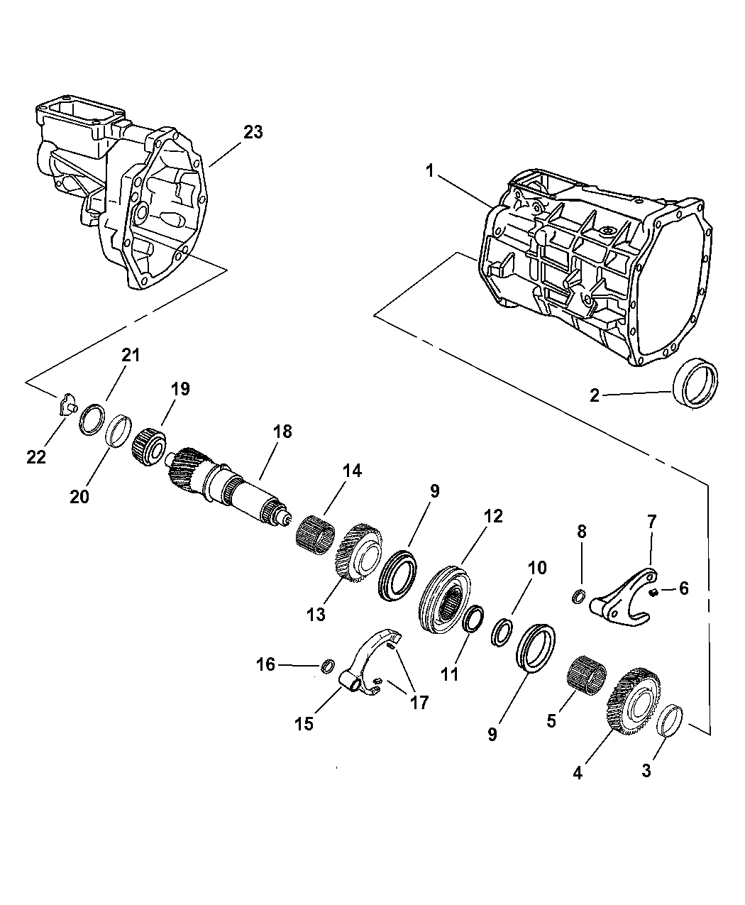 2006 dodge ram 1500 transmission parts diagram