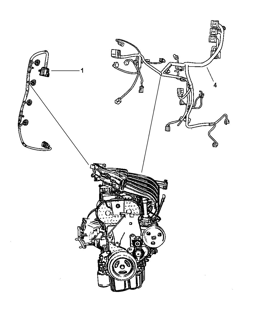 5135800AA - Genuine Mopar WIRING