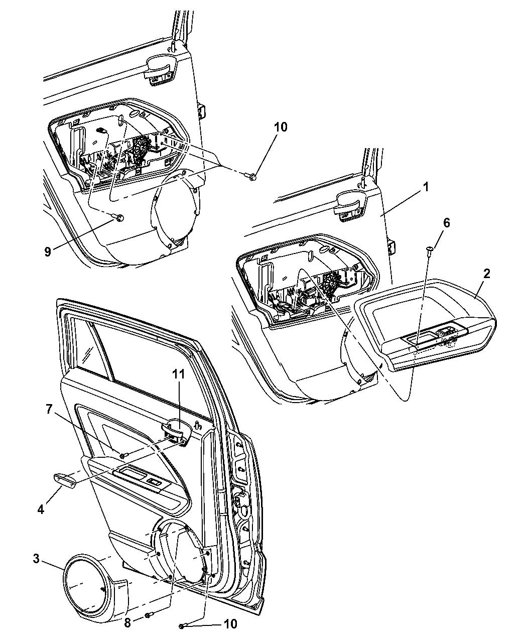 Decoratingspecial Com: Jeep Patriot Interior Trim Parts