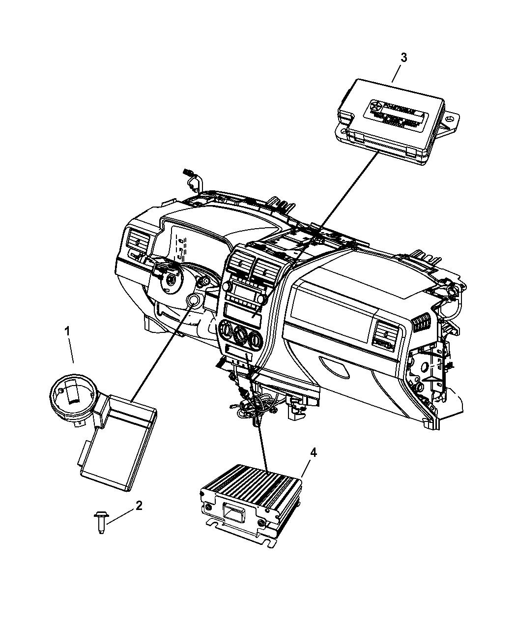 2015 Jeep Compass Modules Instrument Panel Mopar Parts Giant Wiring Diagram