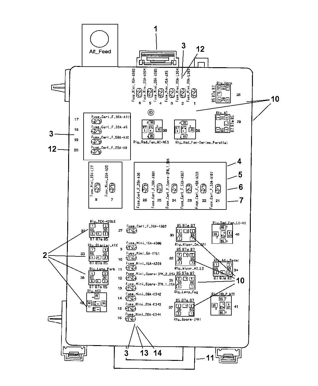 68059370AB - Genuine Mopar BLOCK