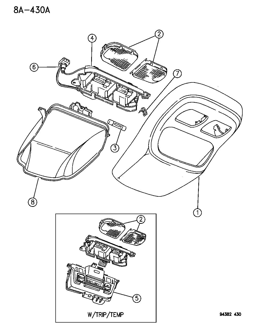 4723432 Genuine Mopar Wiring