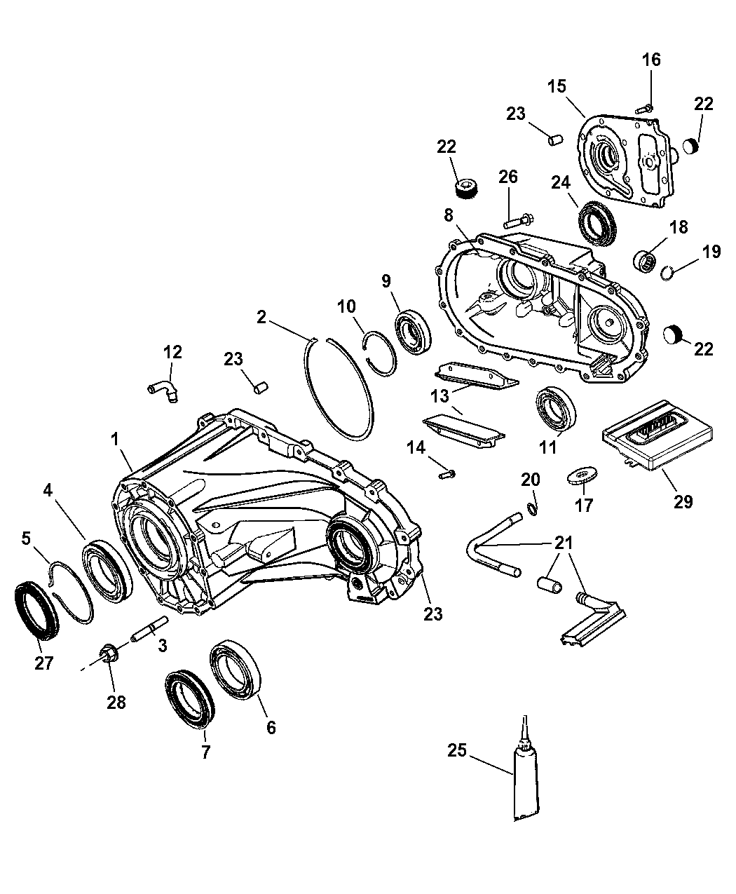 2009 Jeep Commander Case & Related Parts - Thumbnail 1