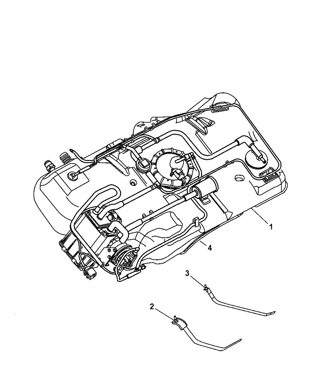 03 pt cruiser wiring diagram 2003 chrysler pt cruiser fuel tank mopar parts giant  2003 chrysler pt cruiser fuel tank