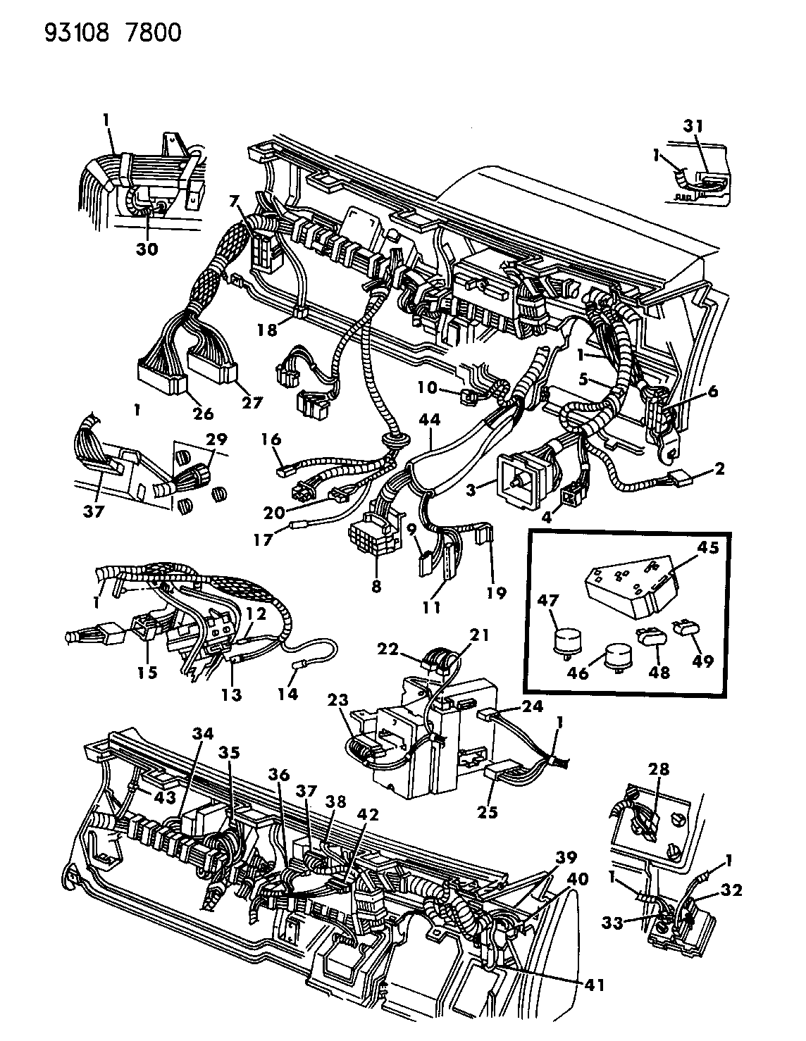 1993 Dodge Dynasty Fuse Box Wiring Library