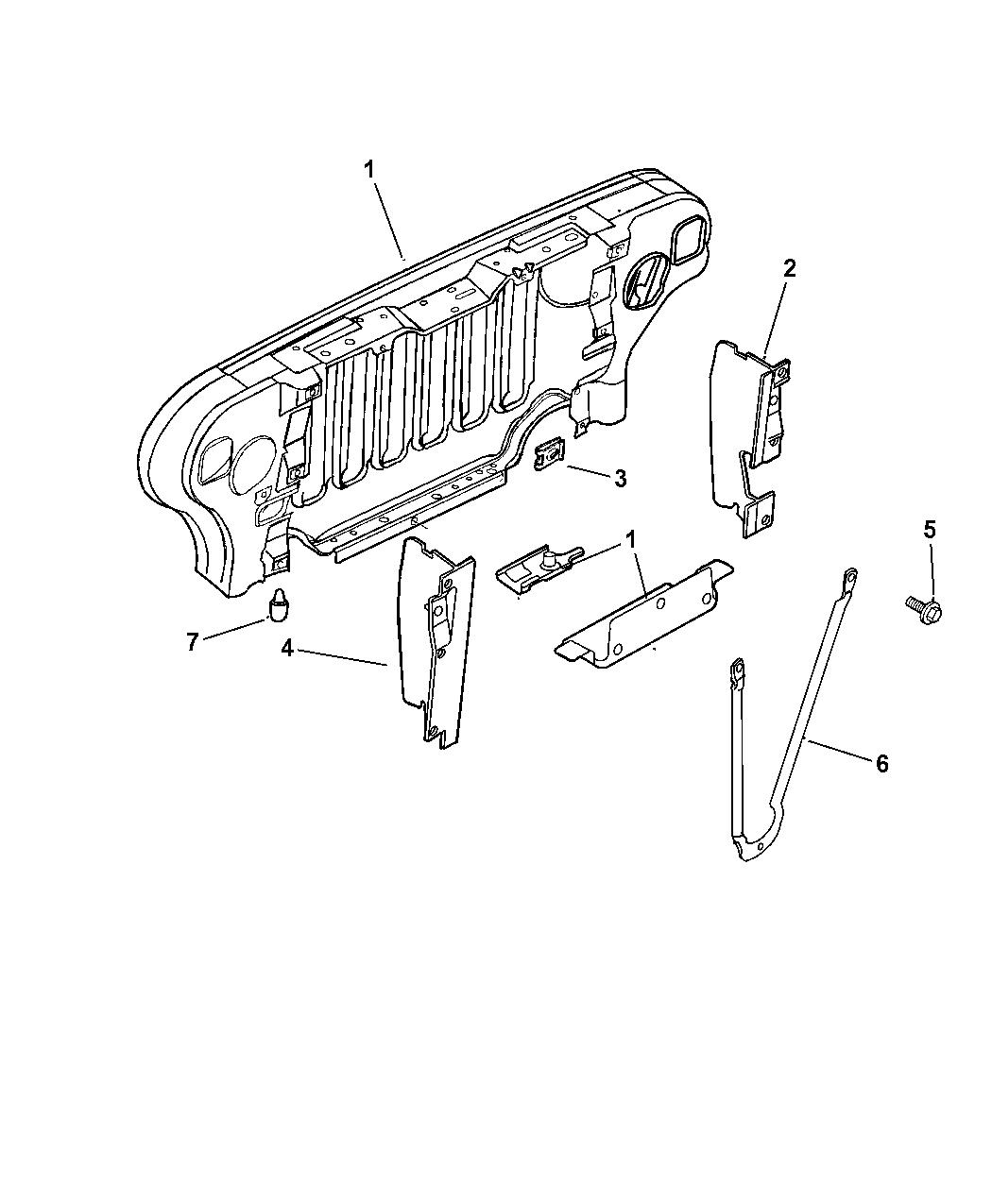 Resource T D Amp S L Amp R Ab C Ee C Ba F C A A B B Cdf E C B D on Jeep Wrangler Oem Parts Diagram Grille