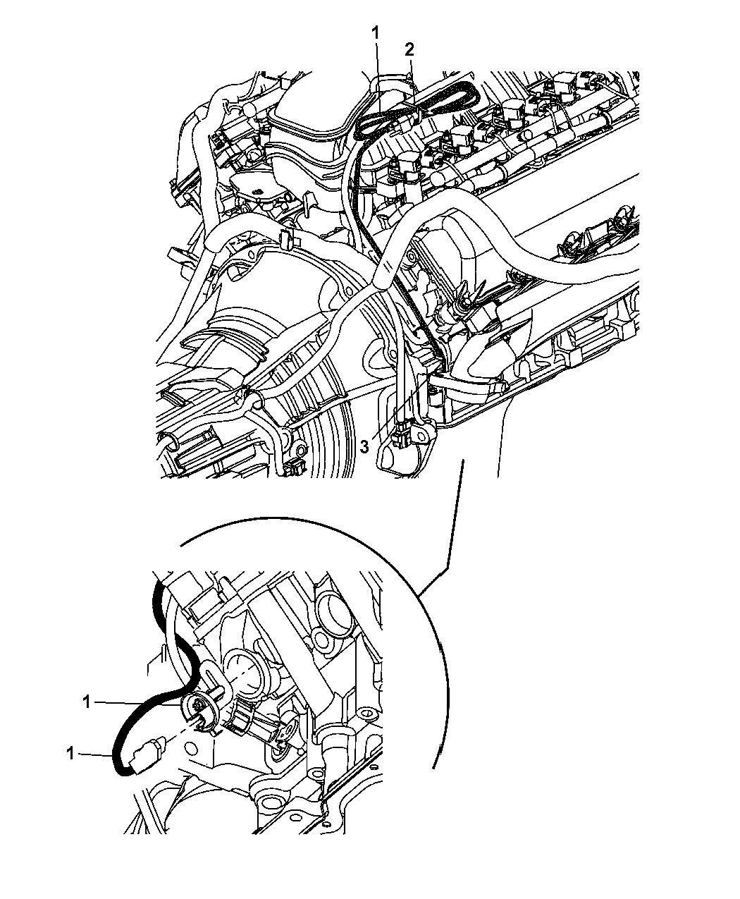 2007 Chrysler Aspen Cylinder Block Heater - Thumbnail 1