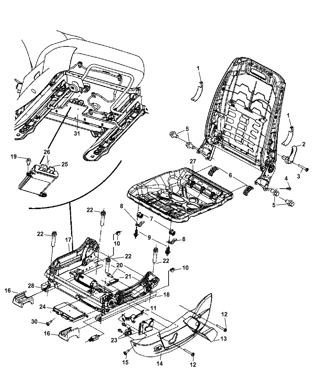 5166088ac genuine mopar kit. Black Bedroom Furniture Sets. Home Design Ideas