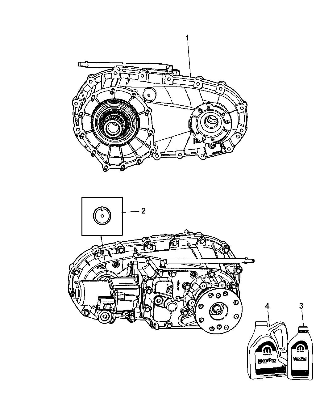 2011 Jeep Patriot Transmission: Genuine Jeep CASE