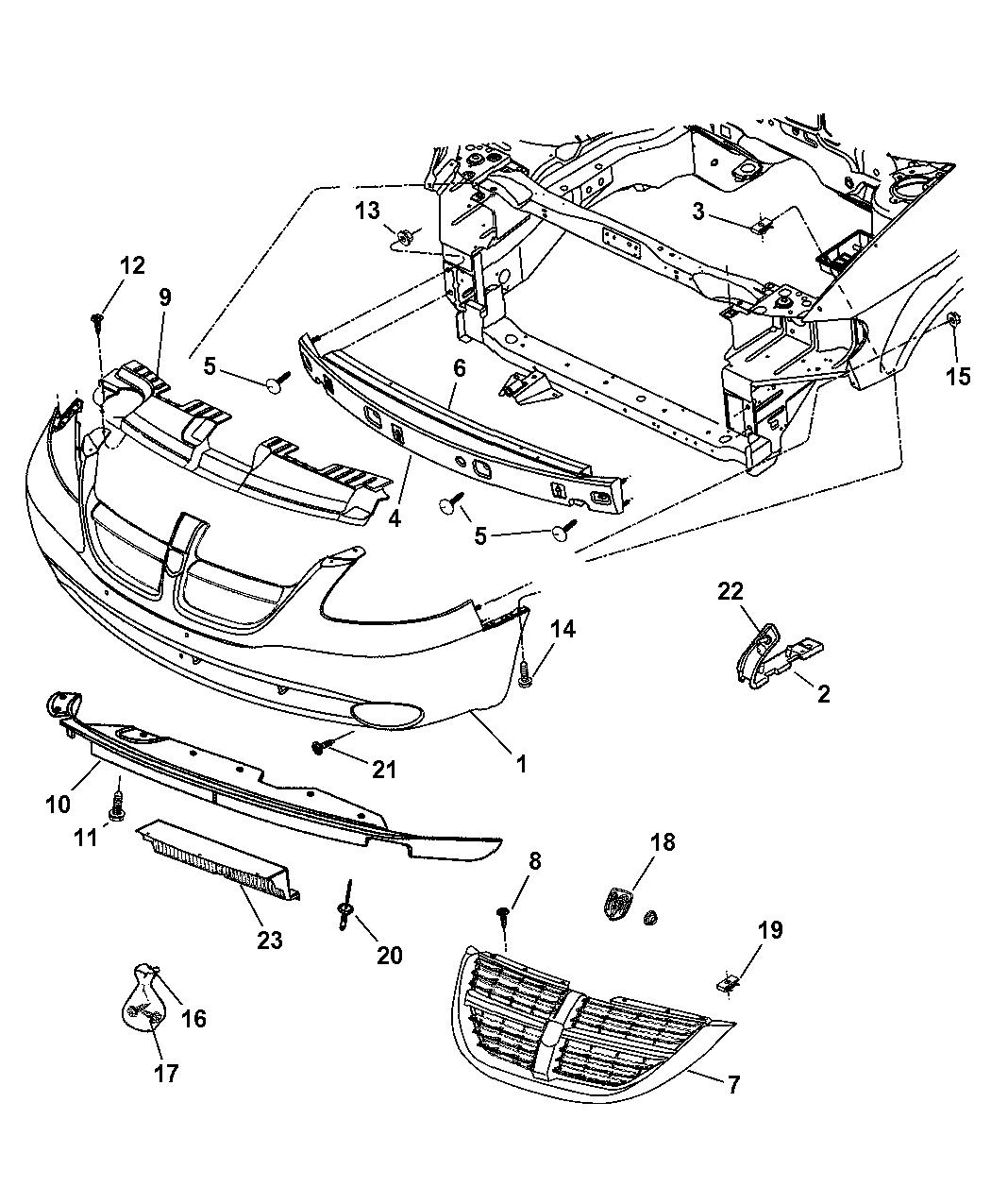 Chrysler Genuine 5113194AA Fascia Nameplate