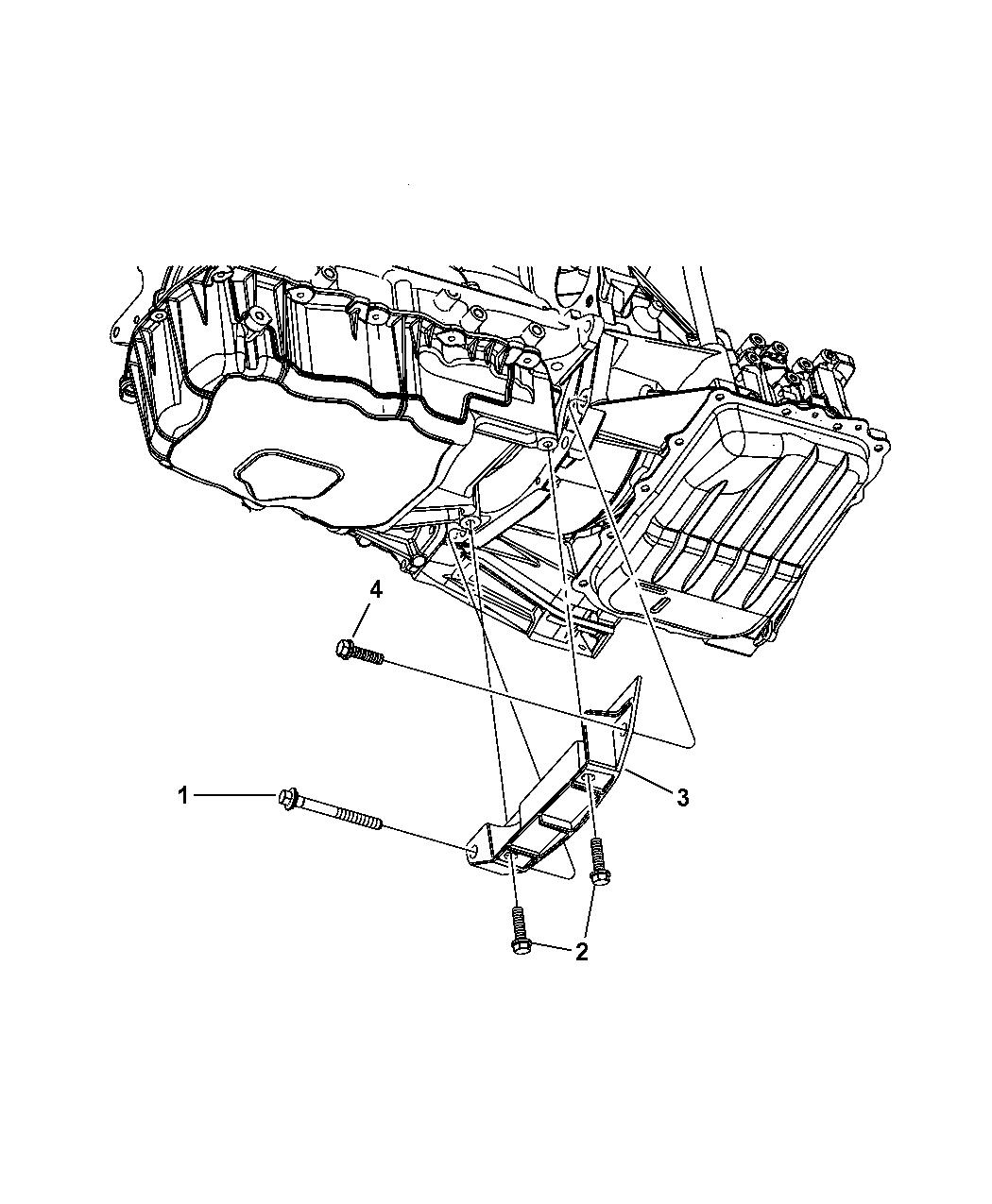2004 Dodge Grand Caravan Structural Collar Mopar Parts Giant Engine Schematics