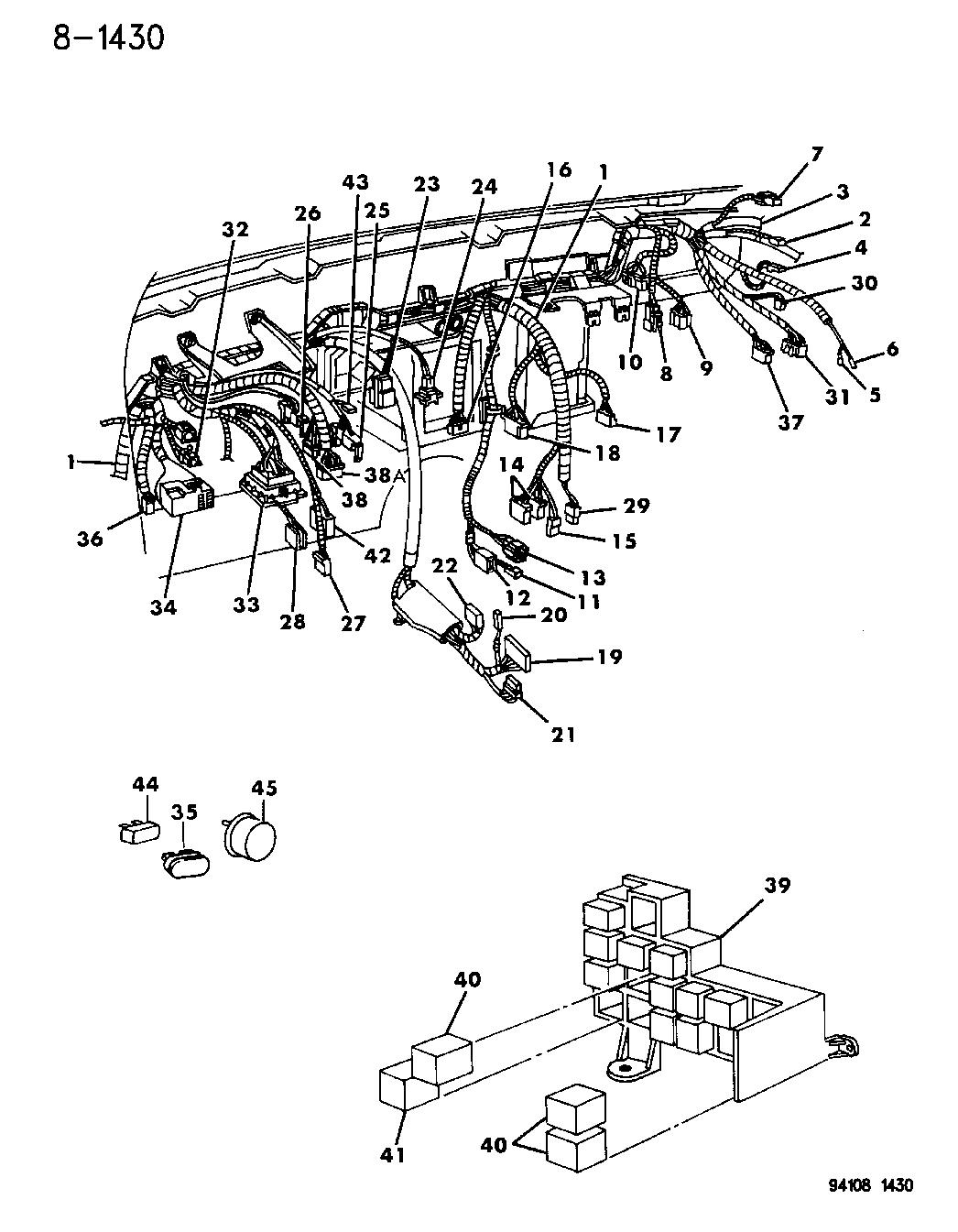 1994 chrysler lebaron gtc wiring