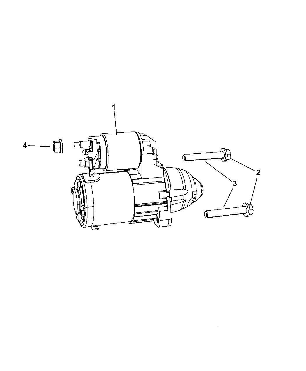 2007 Jeep Patriot Starter Mopar Parts Giant Wiring Diagram Compass Thumbnail 1