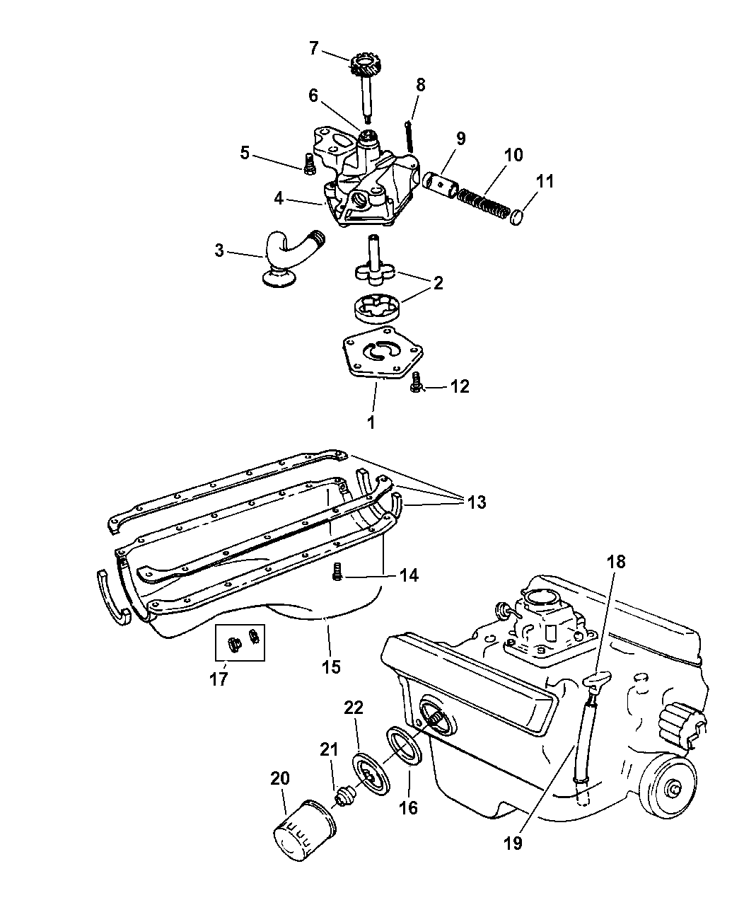 1997 Dodge Ram 1500 Engine: Genuine Dodge INDICATOR-ENGINE OIL LEVEL