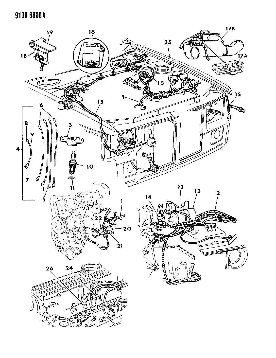 dodge omni wiring diagram