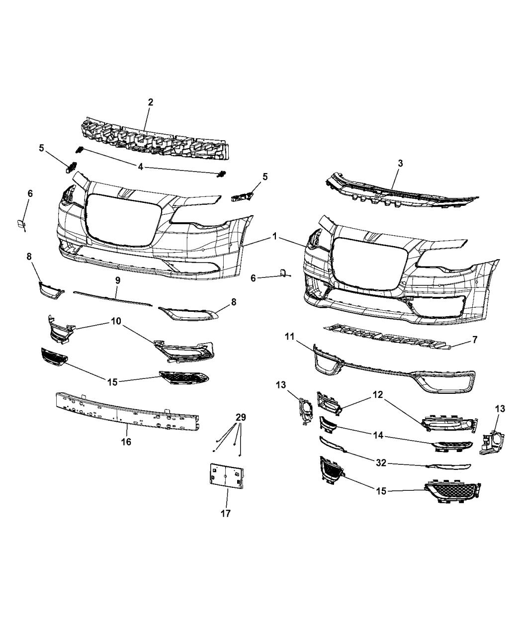 Chrysler 300 Parts Diagram Power Distribution • Wiring