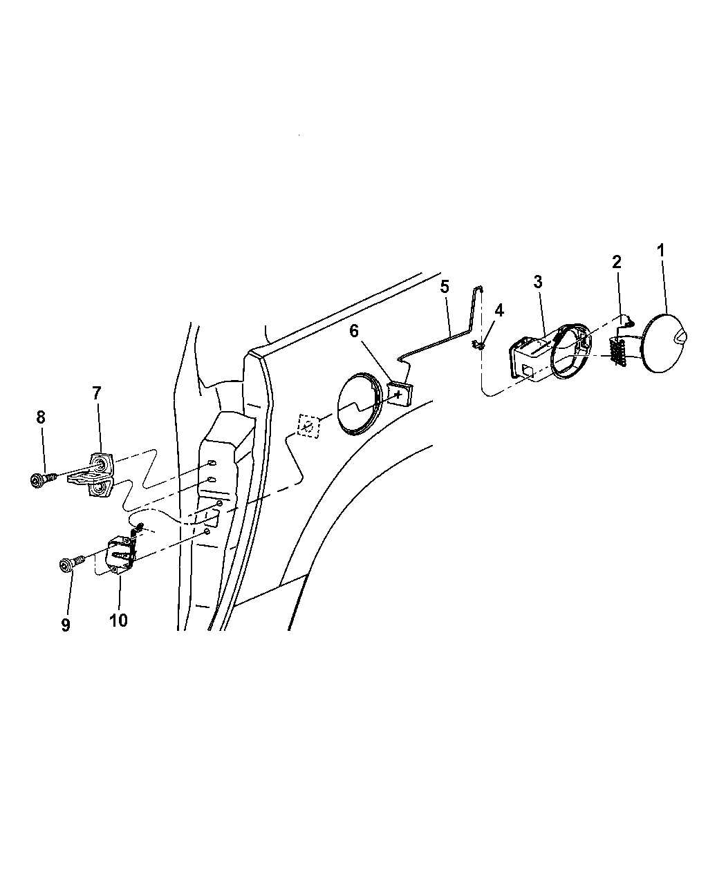 MAHLE JV920 Engine Timing Cover Gasket Set