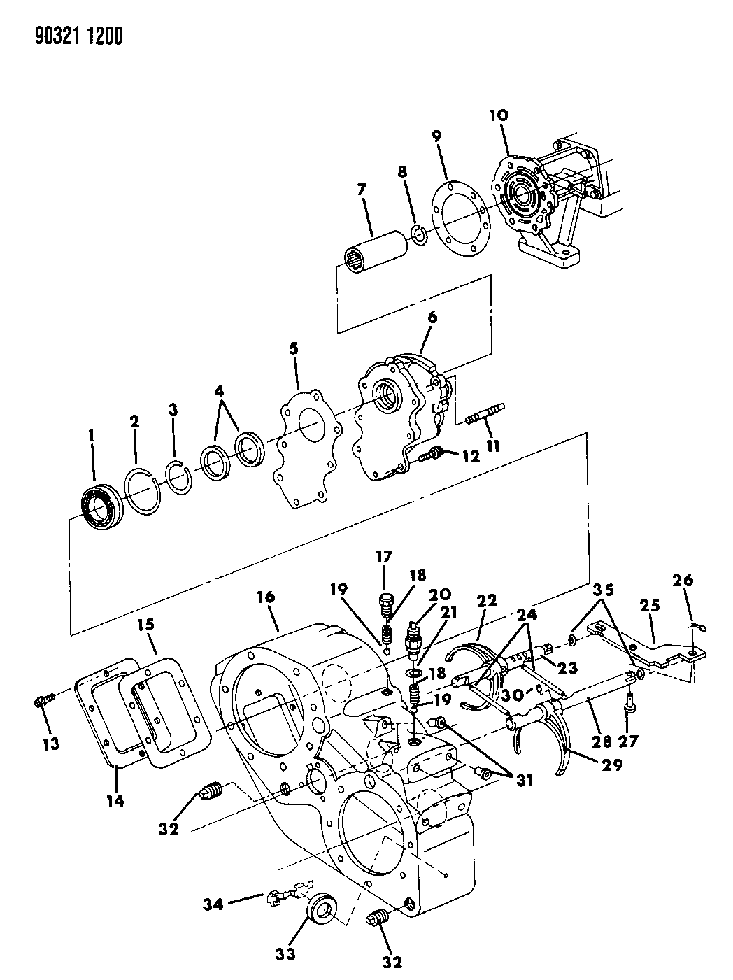 1990 Dodge W250 Case Transfer Related Parts Diagram Wiring Schematic Thumbnail 2