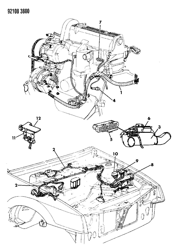 Dodge Wiring Engine Diagram