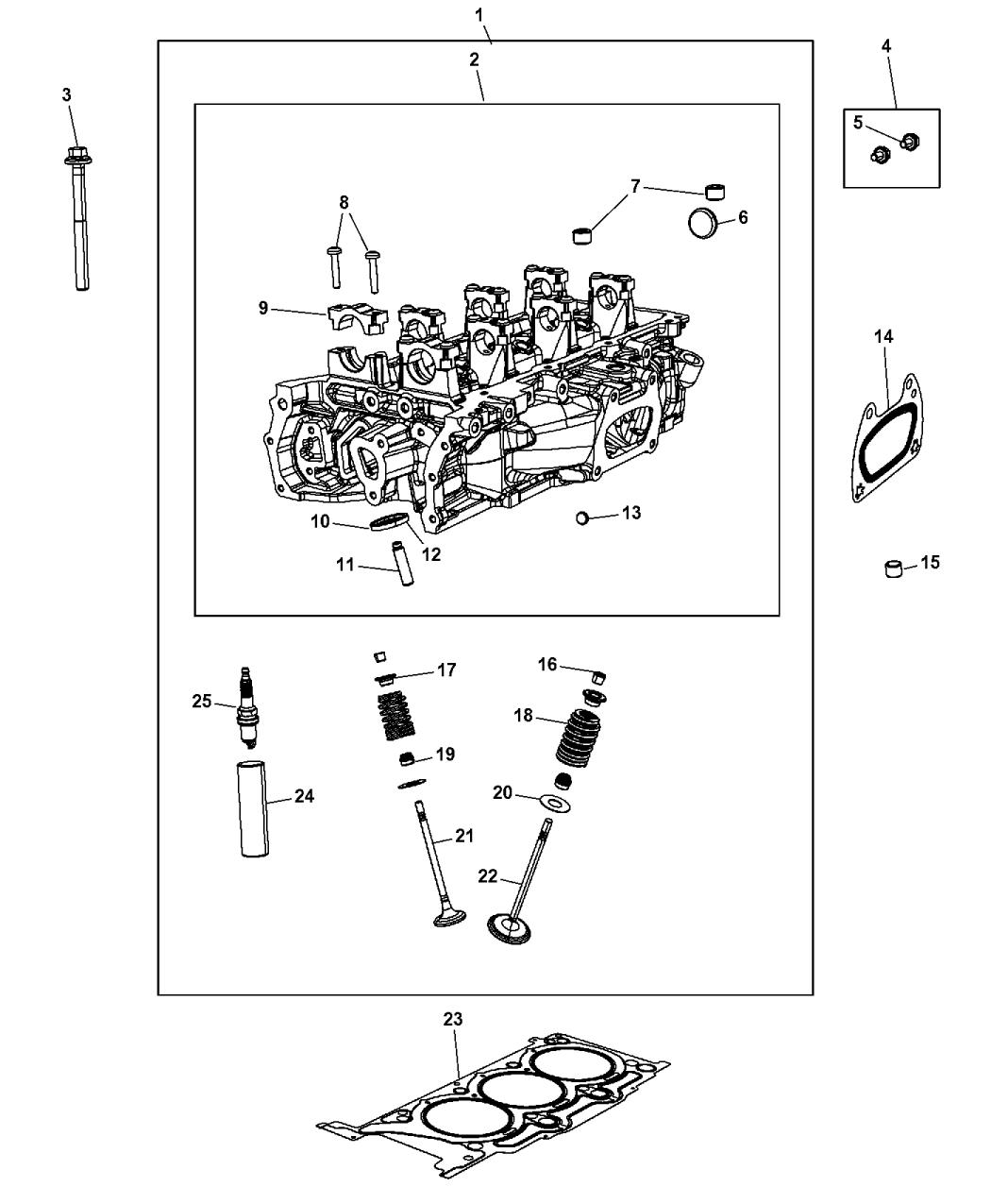 sp149125ae genuine jeep spark plug. Black Bedroom Furniture Sets. Home Design Ideas