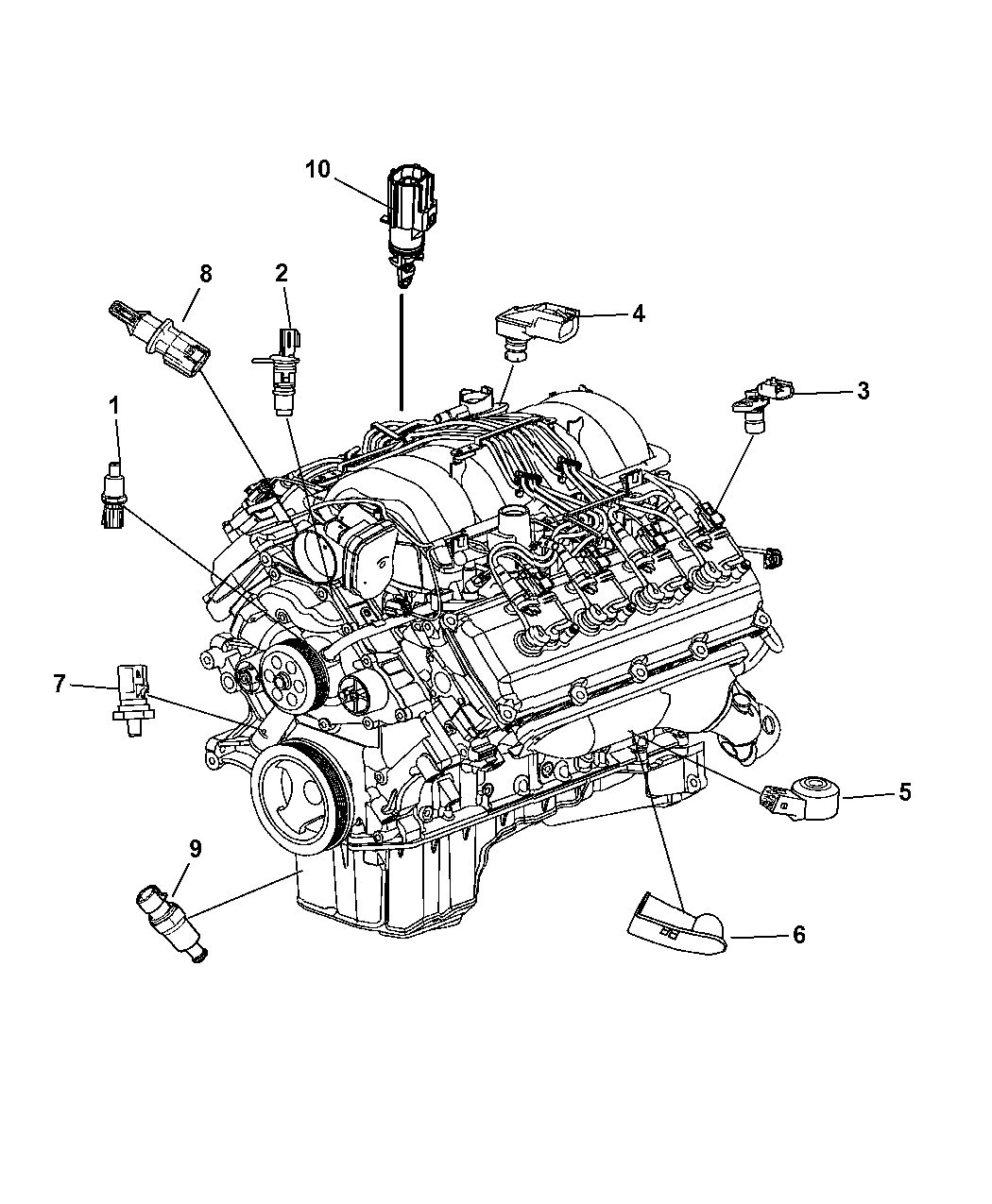 Genuine Dodge SENSOR-CRANKSHAFT POSITION