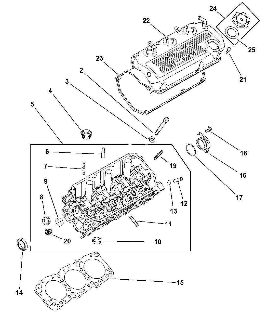 Genuine Dodge GASKET-CYLINDER HEAD