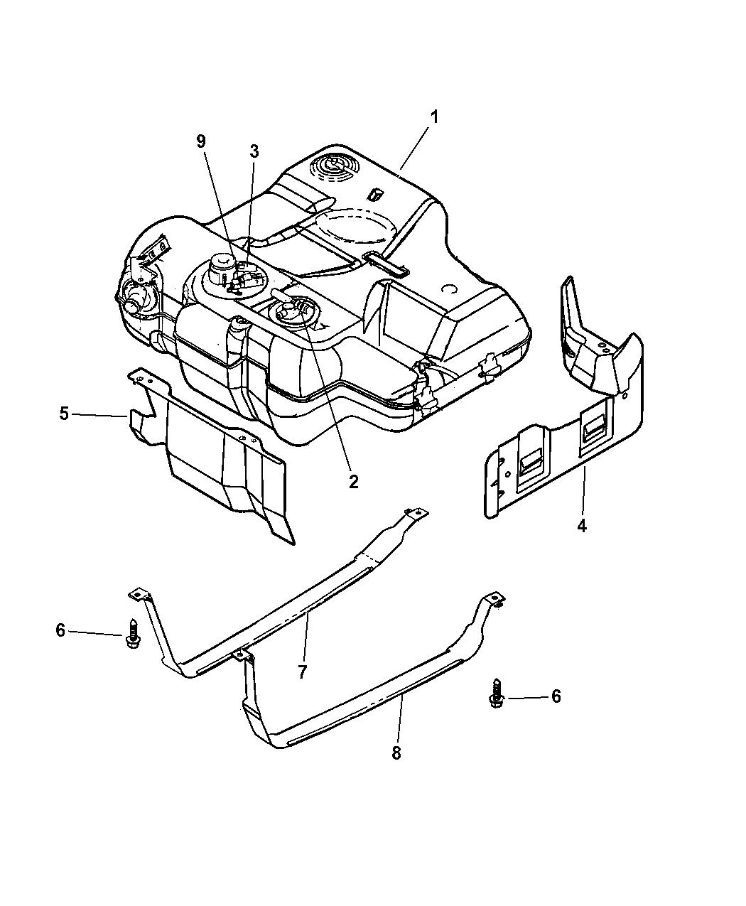 5080751aa genuine dodge valve fuel control. Black Bedroom Furniture Sets. Home Design Ideas