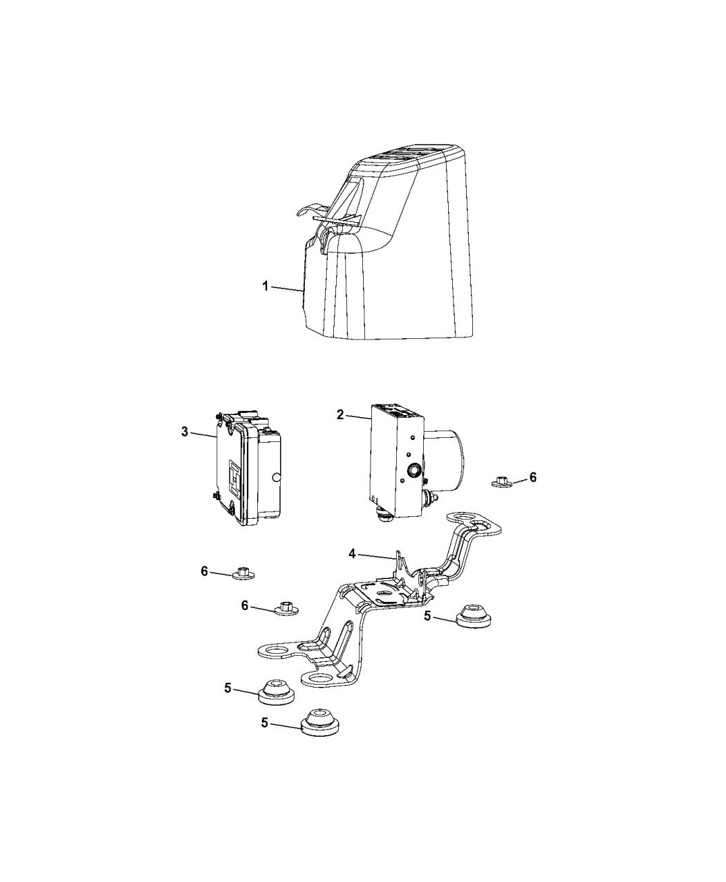 2017 Chrysler Pacifica Module Anti Lock Braking 2006 Window Switch Wiring Diagram