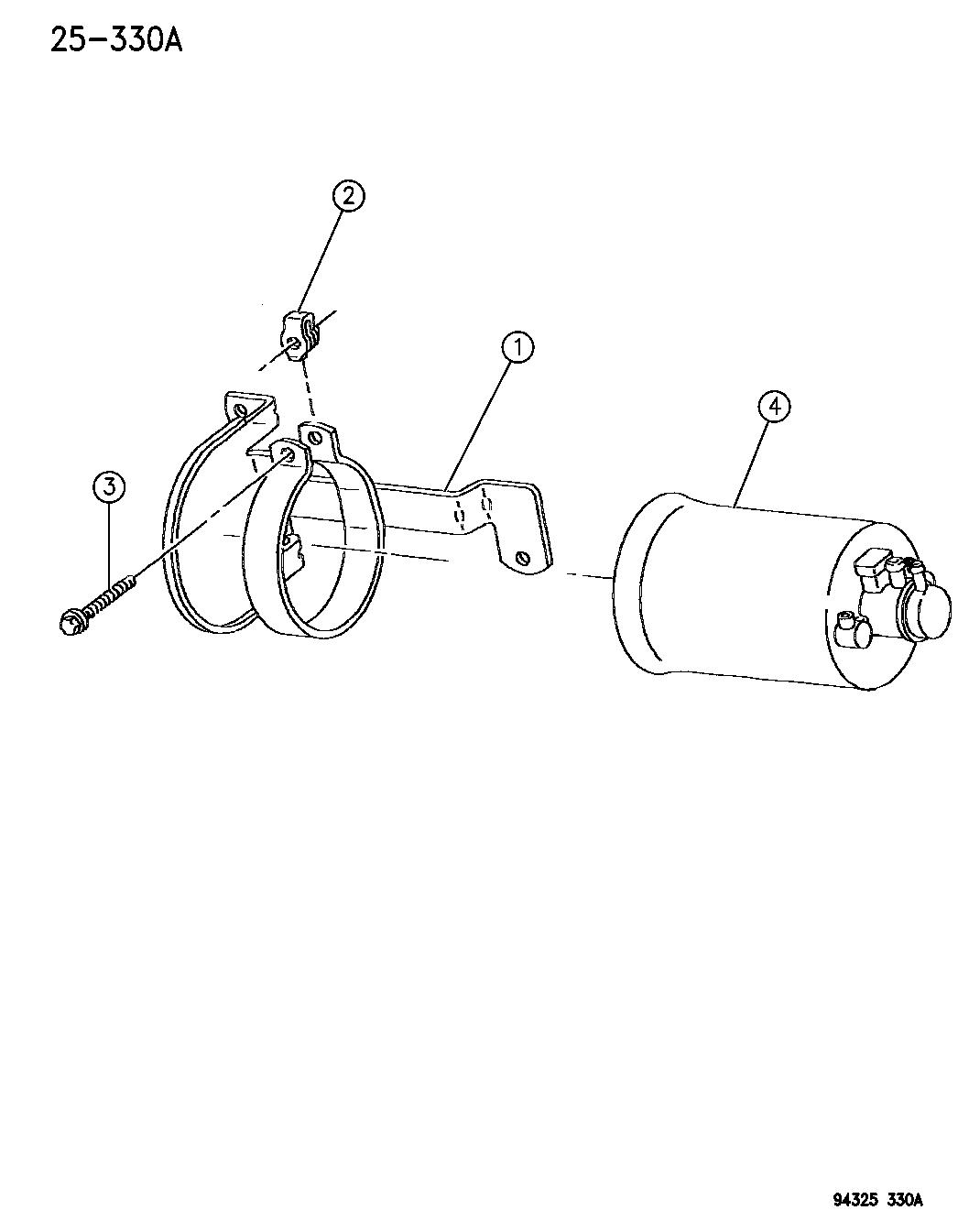 1995 Dodge Ram 3500 Vacuum Canister - Mopar Parts Giant