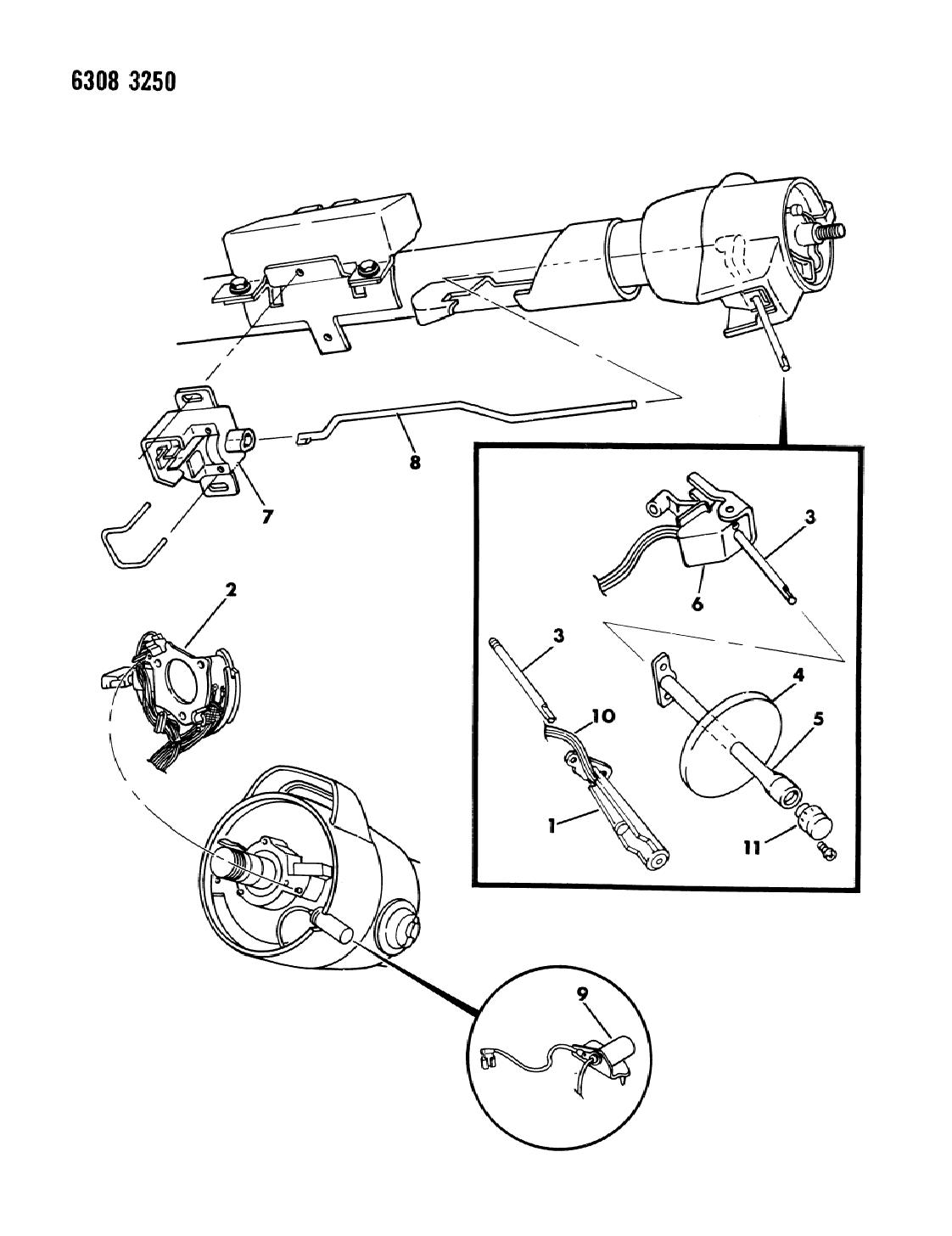 1987 Dodge Ramcharger Switches Turn Signal Hazard Warning 87 Wiring Diagram