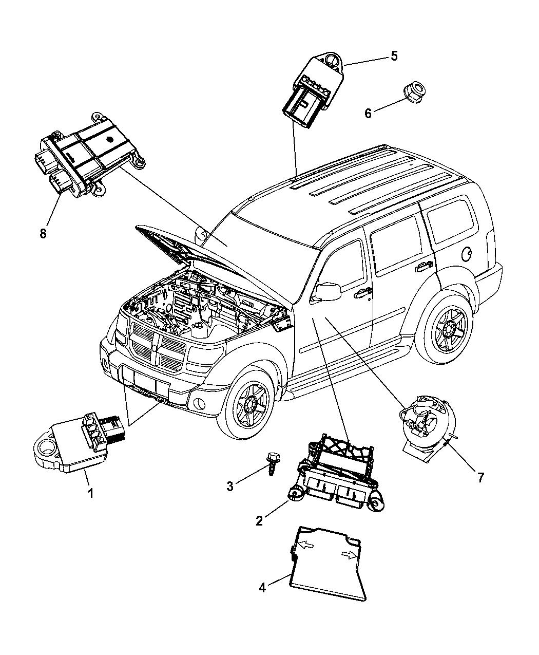 Genuine Mopar CLKSPRING-STEERING COLUMN