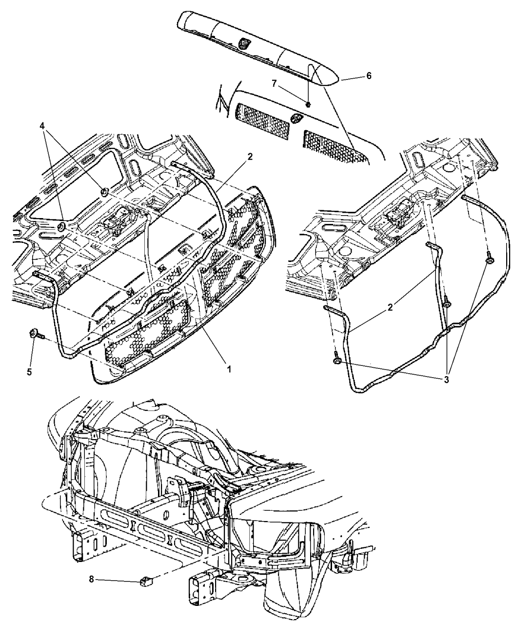 Genuine Mopar DEFLECTOR-AIR