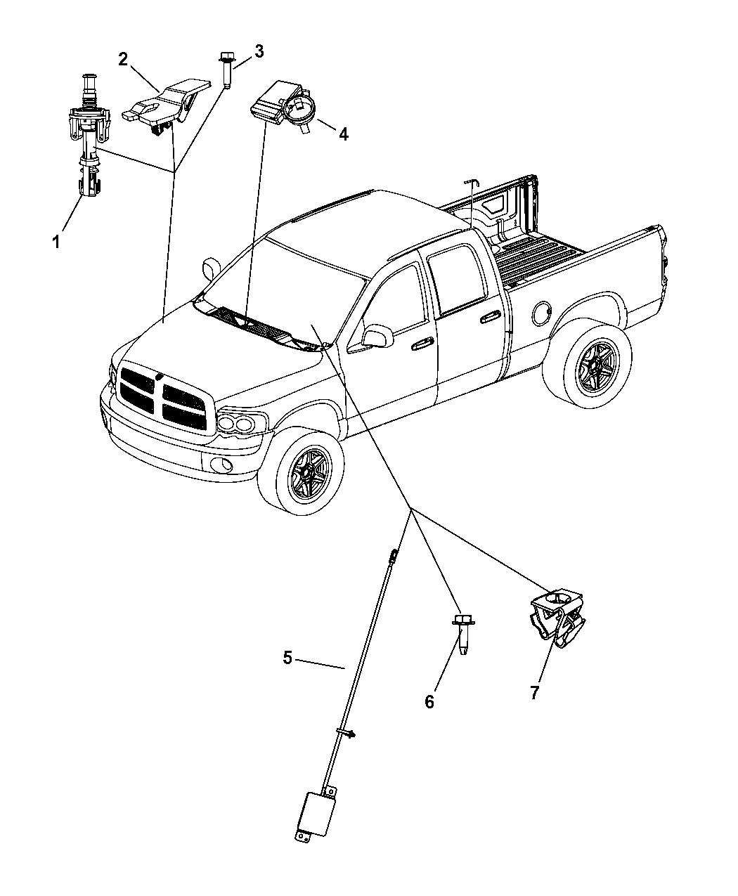 2008 Dodge Ram 1500 Starter  Remote Start